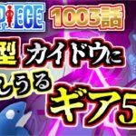 【ワンピース1003最新話】人獣型カイドウに対抗しうるギア5とは?碁盤の意味?【ONEPIECE】