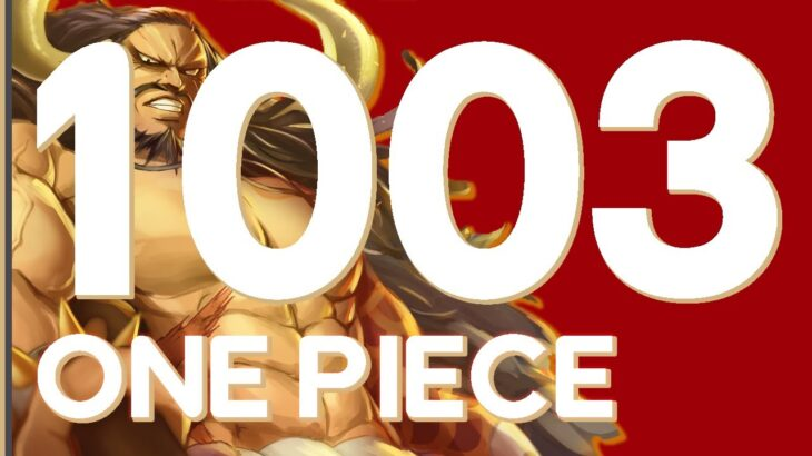 10/10! ONE PIECE CHAPTER 1003 MANGA REACTION AND REVIEW DISCUSSION | ワンピース 1003 – RogersBase LIVE
