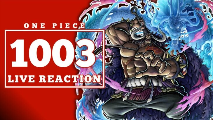 KAIDO IS KING!!!  One Piece 1003 Live Reaction & Discussion  ワンピース