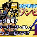 【3分で分かる!】ONE PIECE 46巻 完全ネタバレ超あらすじ!【七武海の一角、現る!!!】