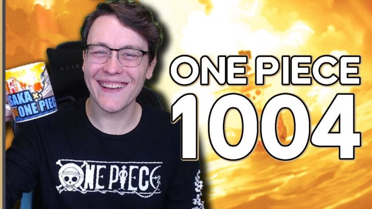 WHO IS THAT?! ONE PIECE CHAPTER 1004 MANGA REACTION   ワンピース 1004 – RogersBase LIVE