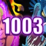 ZORO IS NEXT LEVEL!!! | One Piece Chapter 1003 Live Reaction & Review | ワンピース 1003