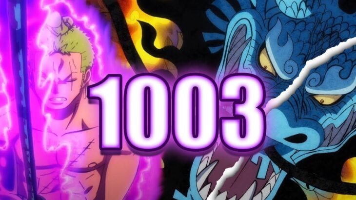 ZORO IS NEXT LEVEL!!!   One Piece Chapter 1003 Live Reaction & Review   ワンピース 1003