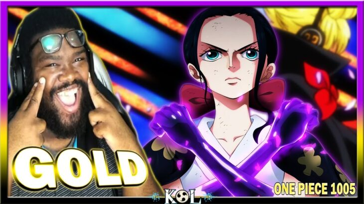LMFAO STRAIGHT GOLD FROM ROBIN & SANJI!   One Piece Chapter 1005 LIVE REACTION – ワンピース