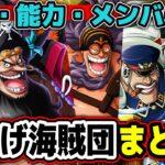 【ワンピース】謎多き四皇!黒ひげ海賊団まとめ!ONE PIECE
