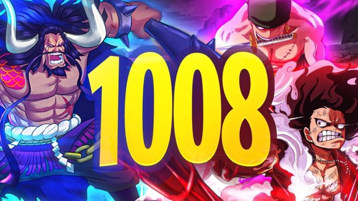 ONE PIECE CHAPTER 1008 MANGA REVIEW THEORY REACTİON | 1008 ワンピース #KAİDOSNEWFORMODEN?