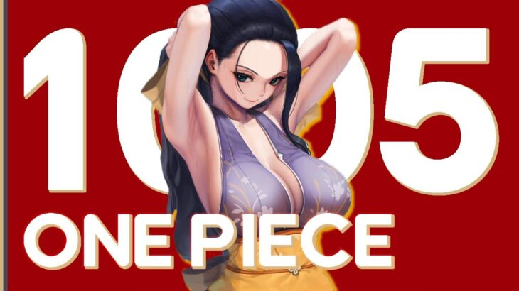 WOBIN! ONE PIECE CHAPTER 1005 MANGA REACTION AND REVIEW DISCUSSION | ワンピース 1005 – RogersBase LIVE