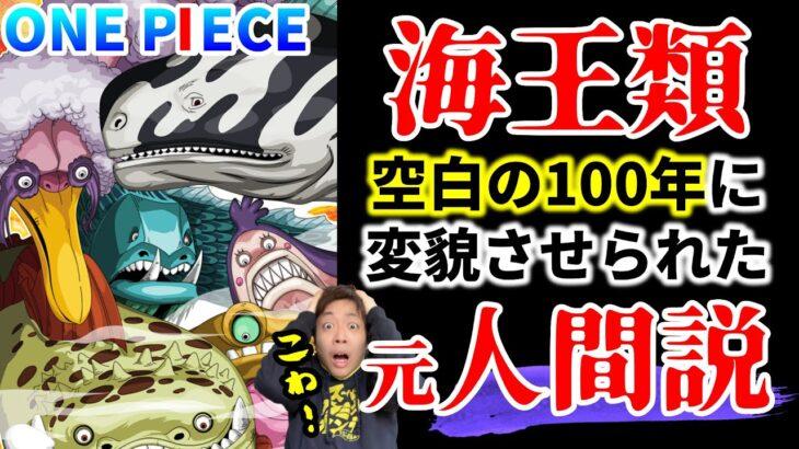 【ワンピース】『空白の100年』の影響を追え!海王類は元人間?!実はまだ空白の100年が存在?!【消された歴史】
