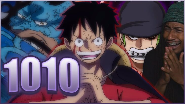 LUFFY & ZORO ARE THE TRUTH!!!   One Piece Chapter 1010 Live Reaction & Review   ワンピース 1010