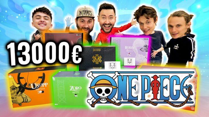 Le Plus Gros Unboxing One Piece du Monde ! (feat Mont Corvo, Inoxtag et Tsume)