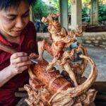 Wood Carving – One Piece: Luffy Gear 2 [ワンピース]