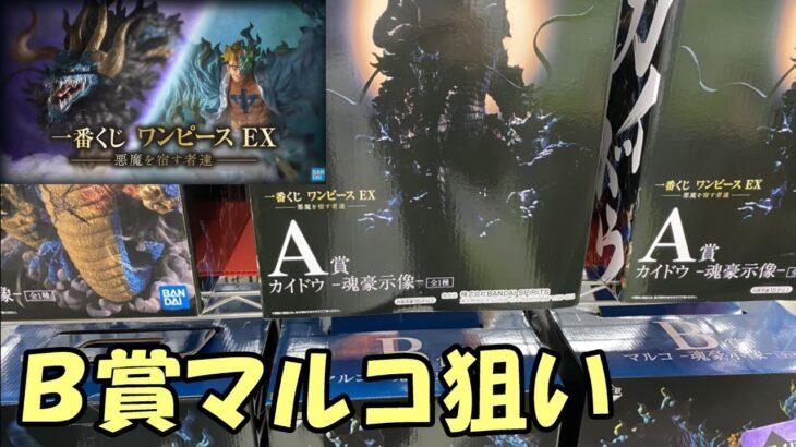 【一番くじ】ワンピースEX~悪魔を宿す者達~をB賞マルコ狙いで引いた結果!!!