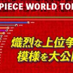 ONE PIECE WT100ランキングムービー【ランク推移!】
