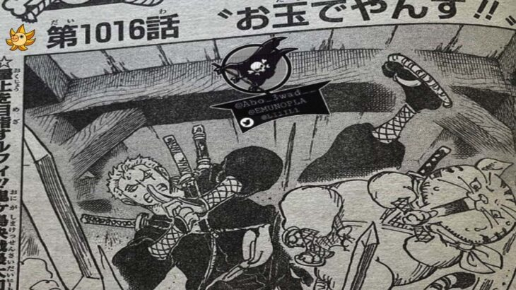 One Piece Chapter 1016 Spoilers English Subtitles