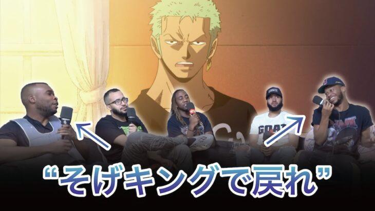 ワンピース【ウソップ決闘のケジメ 前編】(RT TVの反応) 日本語字幕付 ep323