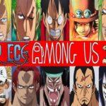 【ワンピース】最悪の世代VS四皇の戦い!ワンピースキャラ達の宇宙人最終決戦シャンクス視点【#アマングアス #AmongUs #アモングアス】
