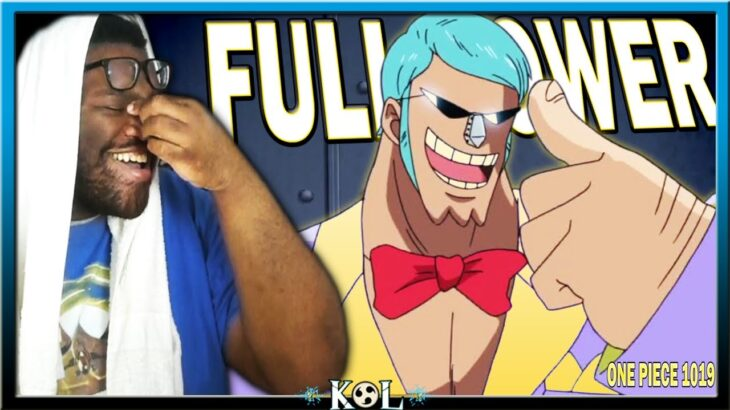 FRANKY ALWAYS HAS THE WEIRDEST FIGHTS! 😂😂   One Piece Chapter 1019 LIVE REACTION – ワンピース