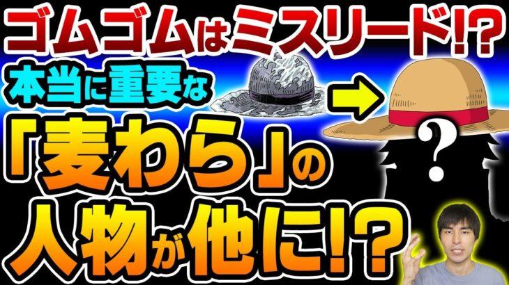 """ゴムゴムの実 だけでなく"""" 麦わら帽子 """"が重要な理由! ルフィ 以外の帽子の人物が登場するのか!?【 ONE PIECE / ワンピース 】"""