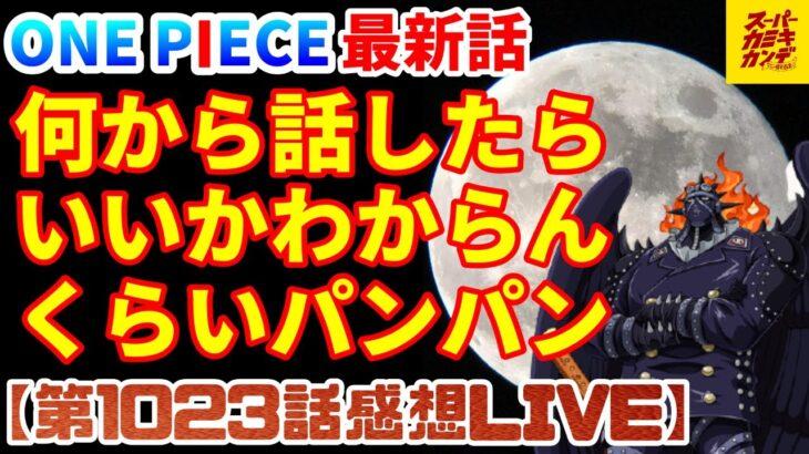 【ワンピース最新話】ルナーリア族って…ゾロって…サンジって…モモって…【第1023話感想LIVE】