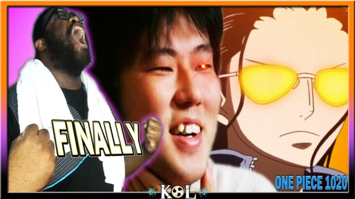 OVER 15 YEARS IN THE MAKING!   One Piece Chapter 1020 LIVE REACTION – ワンピース