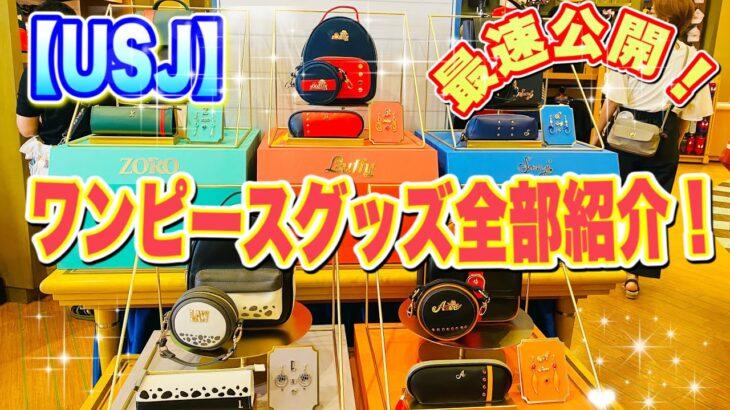【USJ】 最速公開 ワンピースグッズ全部紹介!!! ユニバ