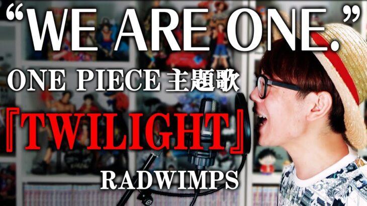 """【祝100巻🎉】『 ONE PIECE """"WE ARE ONE."""" 主題歌  』TWILIGHT / RADWIMPS カバー"""