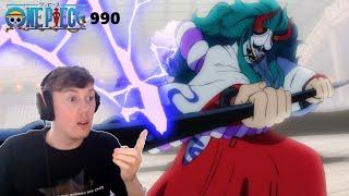 Ulti vs Luffy & Yamato!! One Piece Episode 990 Reaction